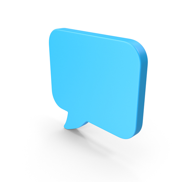 Speech Balloon: Chat Web Icon PNG & PSD Images