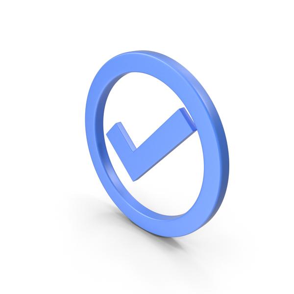 Logo: Check Mark Blue PNG & PSD Images