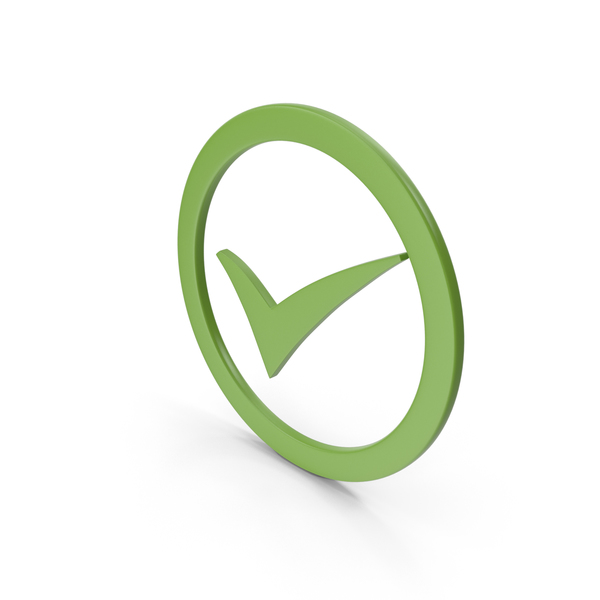 Check Mark Lime Green PNG & PSD Images