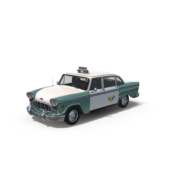 Checker Taxicab 1982 Object