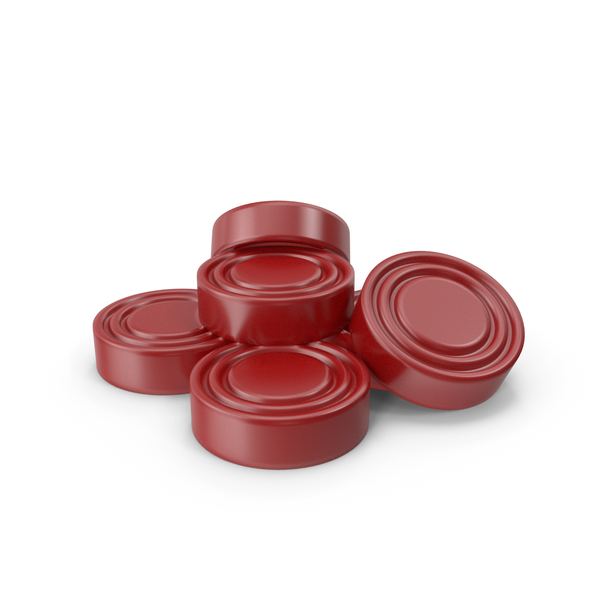 Checkers Pieces Red PNG & PSD Images