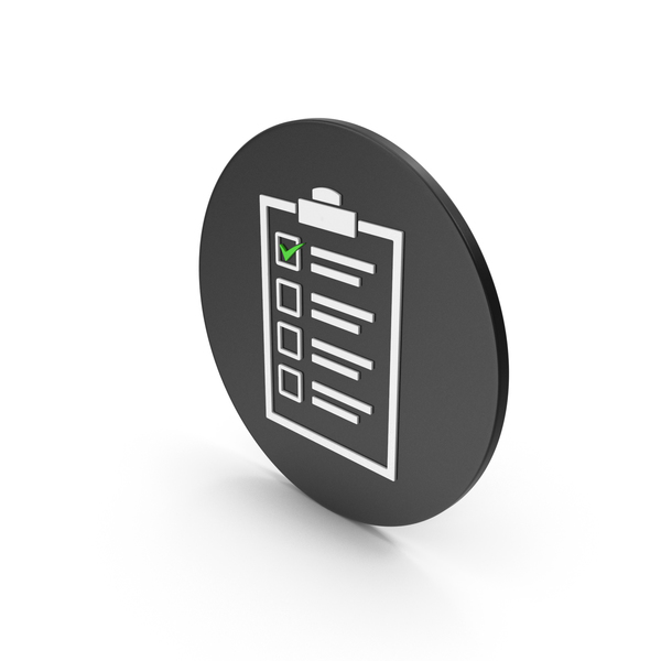 Checklist Icon PNG & PSD Images