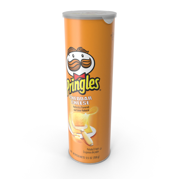 Potato Chip Bag: Cheddar Cheese Pringles PNG & PSD Images