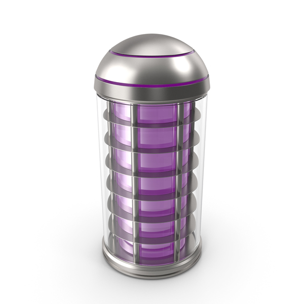 Chemical Cartridge Violet PNG & PSD Images