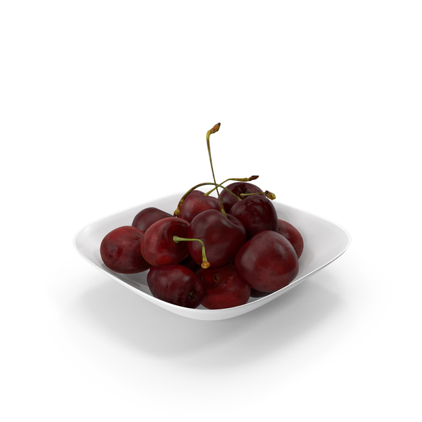 Cherries In Bowl PNG & PSD Images