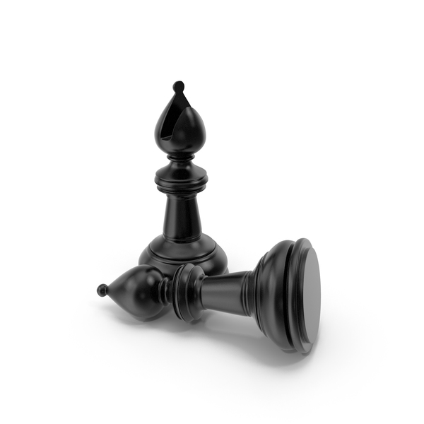 Chess Bishop Black PNG & PSD Images