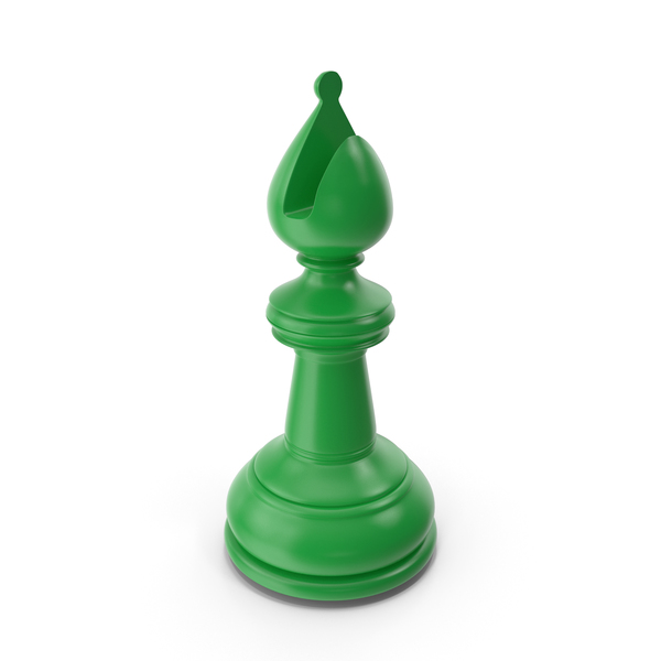 Chess Bishop Green PNG & PSD Images