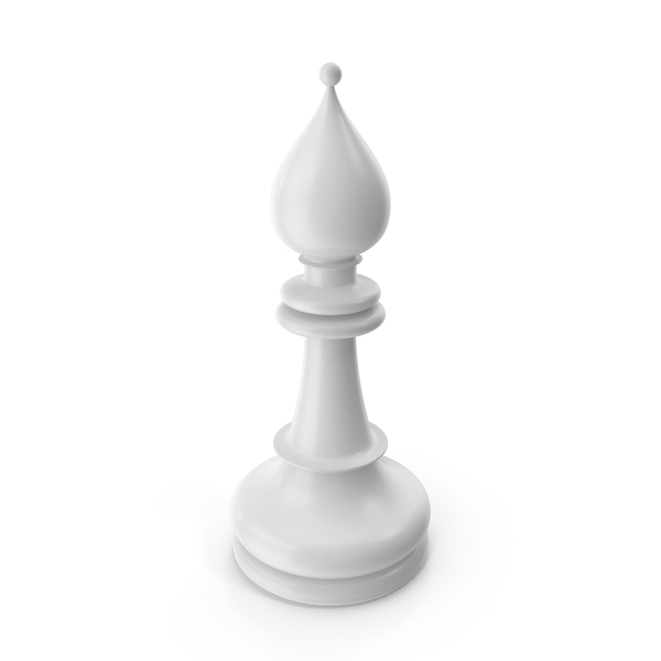 Chess Bishop White PNG & PSD Images