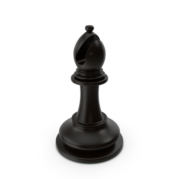 Chess Black Bishop PNG & PSD Images