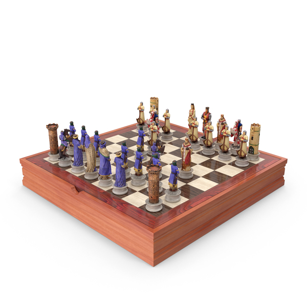 Chess Board Set PNG & PSD Images