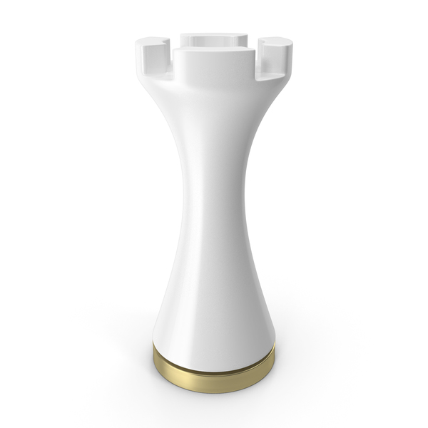 Chess Figure White Rook PNG & PSD Images