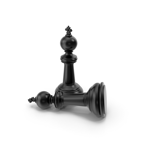 Chess King Black PNG & PSD Images