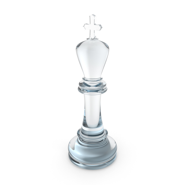 Chess King Glass PNG & PSD Images