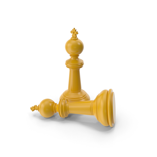 Chess King Yellow PNG & PSD Images