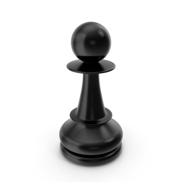 Chess Pawn Black PNG & PSD Images