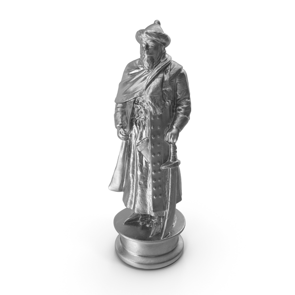 Chess Piece King Silver PNG & PSD Images