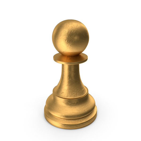 Chess Piece Pawn Gold PNG & PSD Images