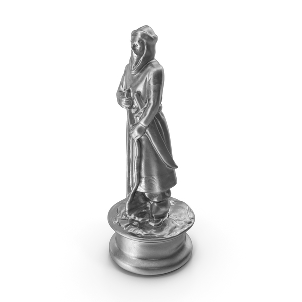Chess Piece Pawn Silver PNG & PSD Images