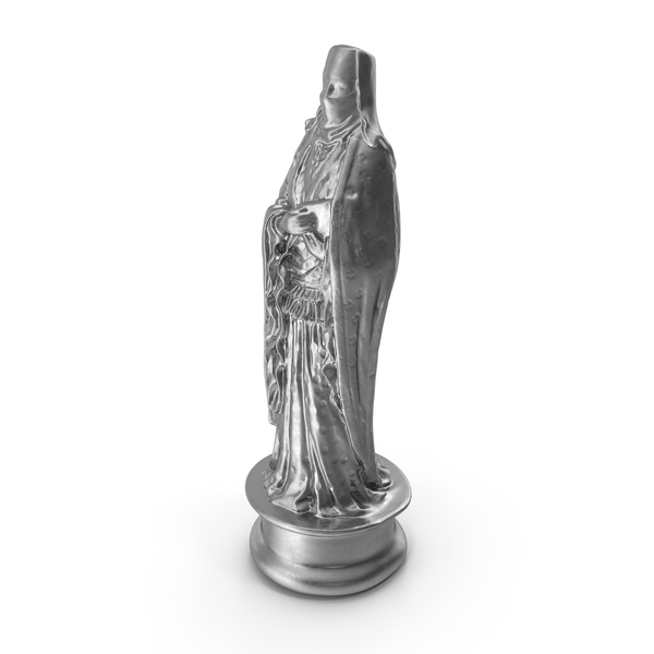 Chessmen: Chess Piece Queen Silver PNG & PSD Images