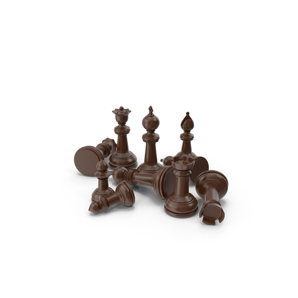 Chess Pieces Brown PNG & PSD Images