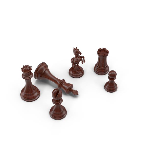 Chessmen: Chess Pieces PNG & PSD Images
