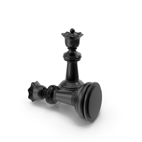 Chessmen: Chess Queen Black PNG & PSD Images