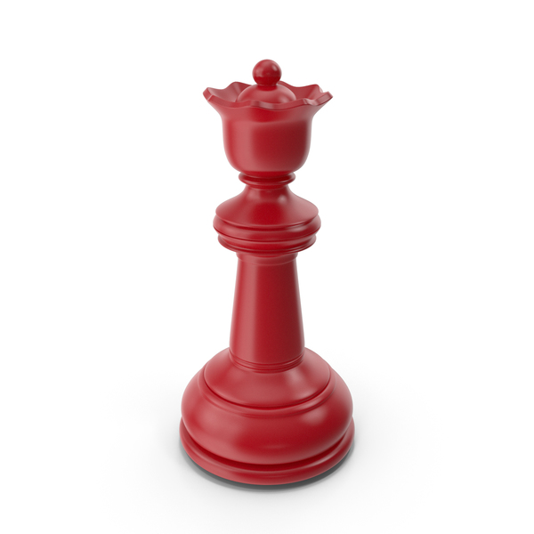Chess Queen Red PNG & PSD Images
