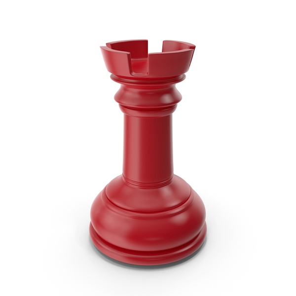 Chess Rook Red PNG & PSD Images