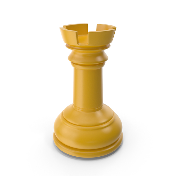 Chess Rook Yellow PNG & PSD Images