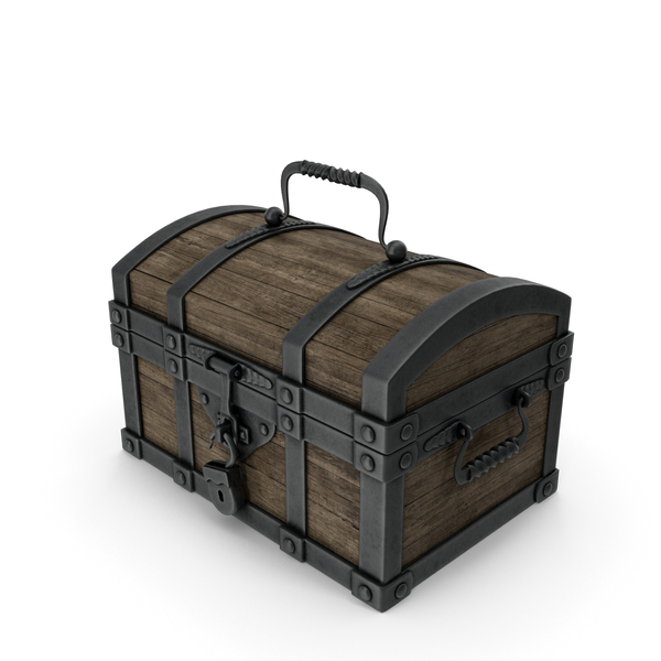 Chest Metal Wood PNG & PSD Images
