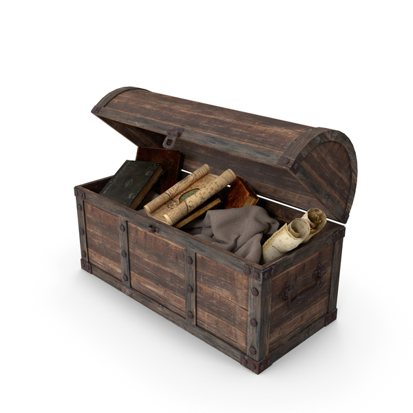 Chest with Artifacts PNG & PSD Images
