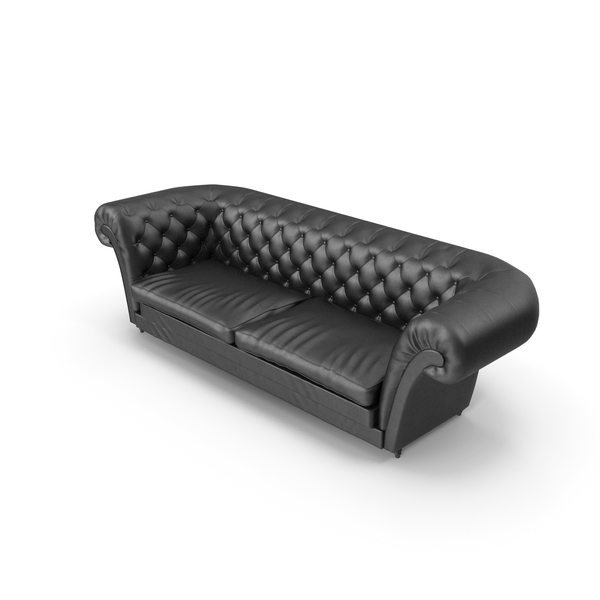 Chesterfield Classic Sofa Armchair Chair PNG & PSD Images