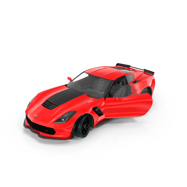 Sports Car: Chevrolet Corvette PNG & PSD Images