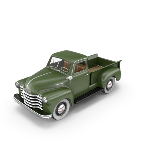 Pick Up Truck: Chevrolet Pickup 1951 PNG & PSD Images