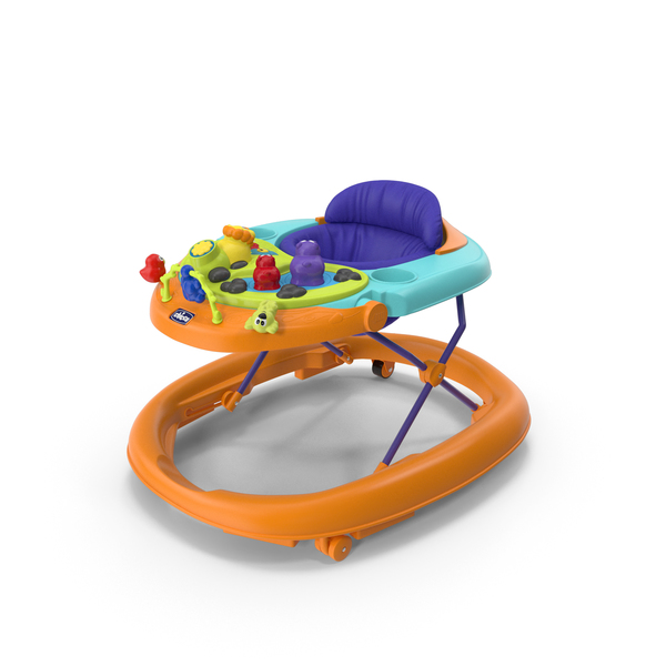 Chicco Walkie Talky Baby Walker Green PNG & PSD Images