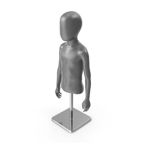 Child Mannequin Half PNG & PSD Images