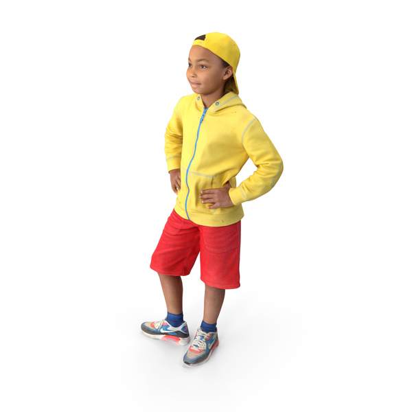 Child Posed PNG & PSD Images