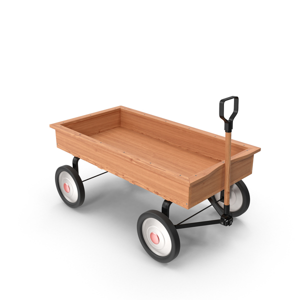 Toy: Child's Wagon PNG & PSD Images