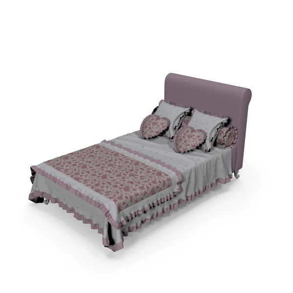 Children Bed and Tumb Halley PNG & PSD Images