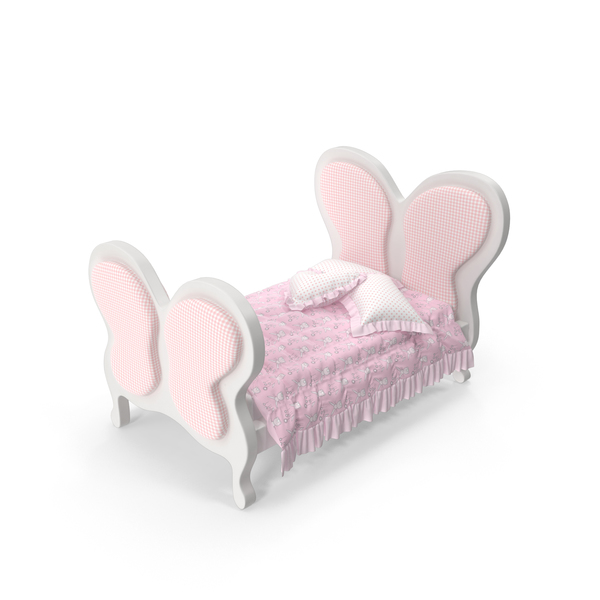 Childrens: Children Bed PNG & PSD Images