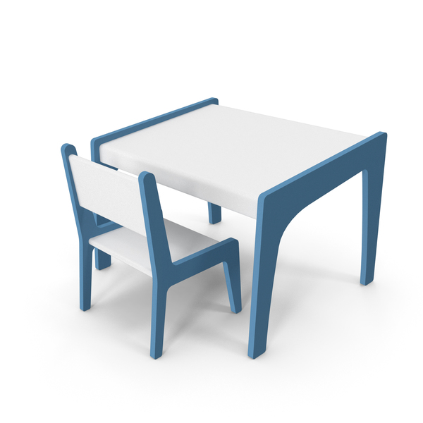 Children's Activity Table PNG & PSD Images