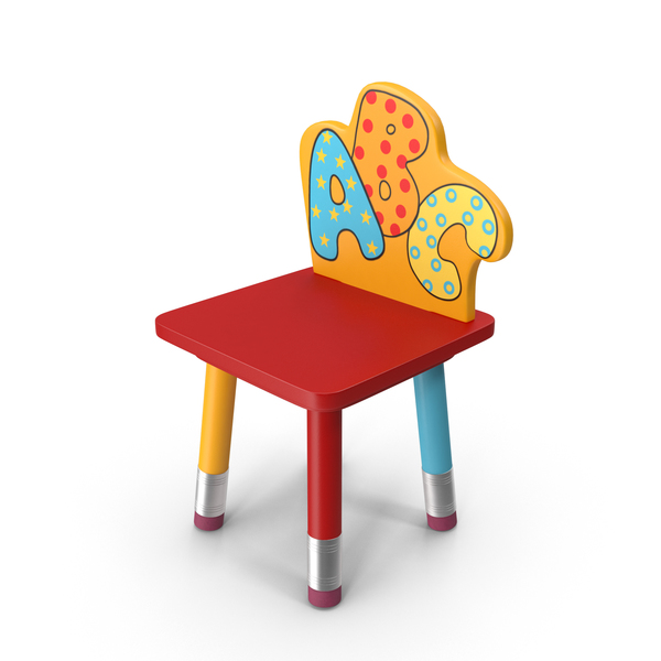 High: Children's Chair PNG & PSD Images