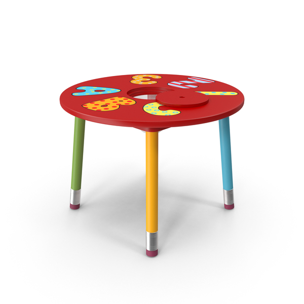Children's Table PNG & PSD Images