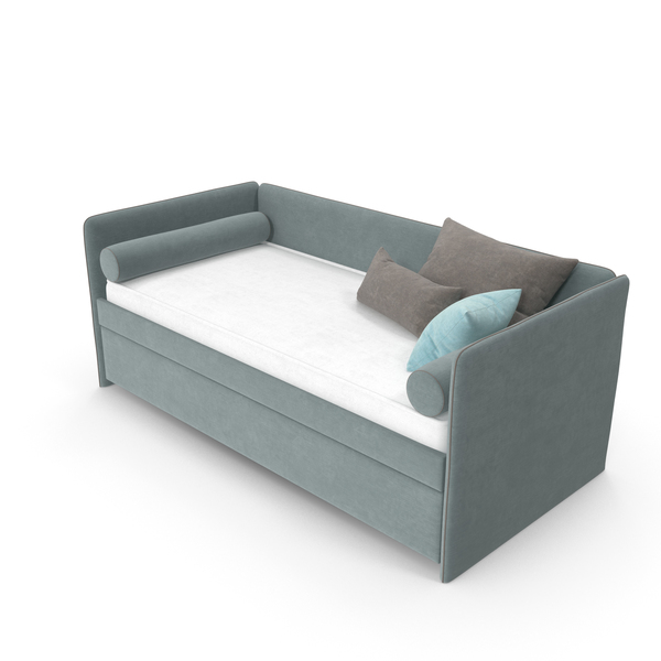 Children Single Bed PNG & PSD Images