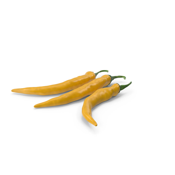 Chili Pepper Yellow PNG & PSD Images