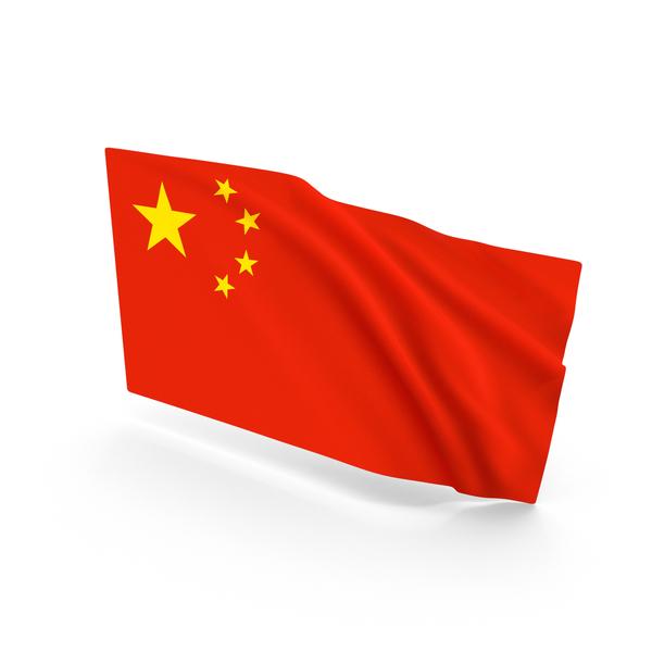 Chinese: China Waving Flag PNG & PSD Images