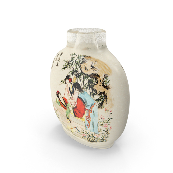 Chinese Snuff Bottle PNG & PSD Images