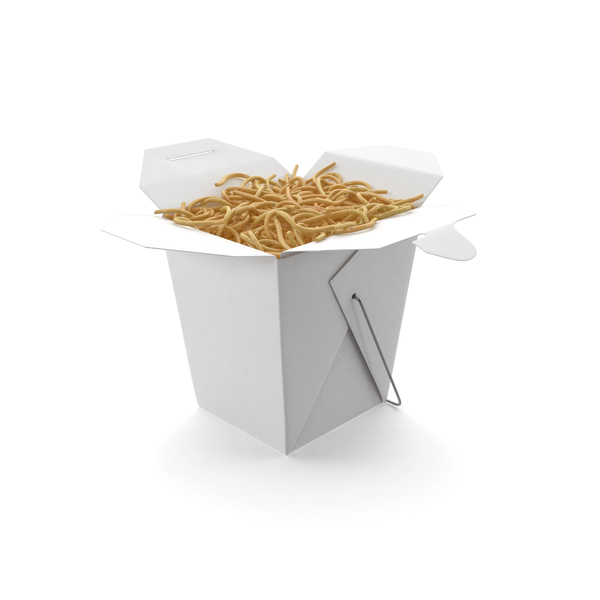 Chinese Takeout Box PNG & PSD Images