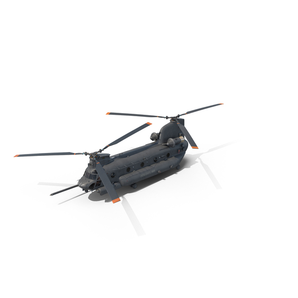 Chinook Helicopter Object