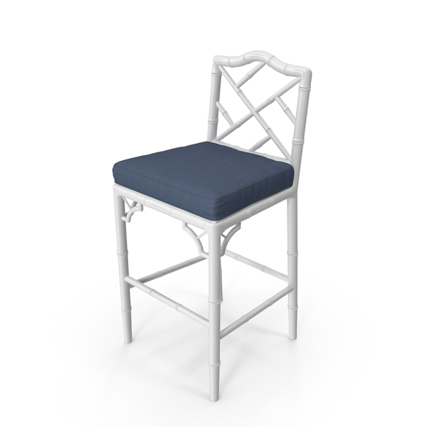Chippendale Bar Chair PNG & PSD Images